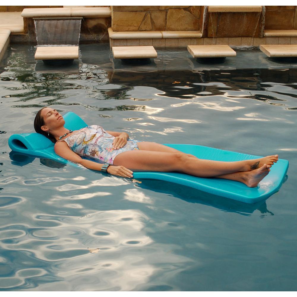 Large Foam Mattress Teal Pool Float