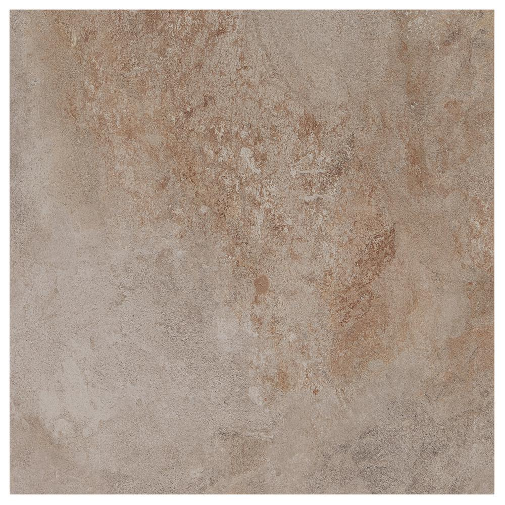 18x18 ceramic tile tile the home depot longbrooke weathered slate 18 in x 18 in ceramic floor and wall tile dailygadgetfo Image collections