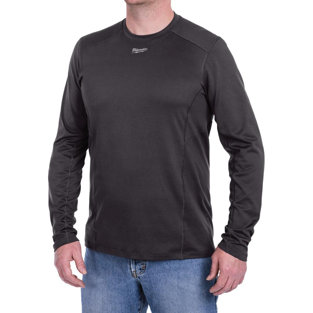Milwaukee Men's 2X WorkSkin Gray Cold Weather Base Layer,...