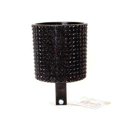 Bling Black Diamond Bicycle Drink Holder
