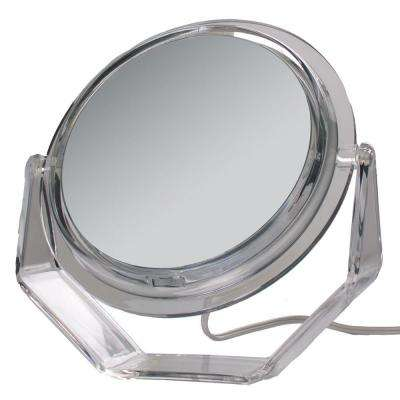 Surround Light 5X Vanity Mirror In Acrylic