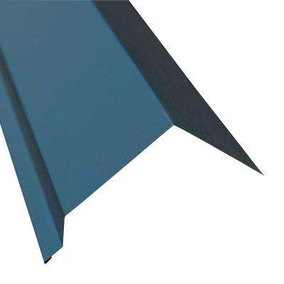 5 in. x 10.5 ft. Eave Flashing Molding in Ocean Blue