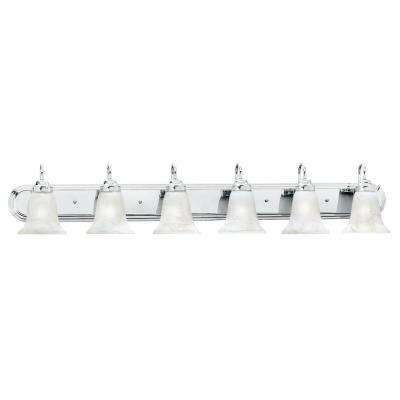 Homestead 6-Light Chrome Wall Vanity Light