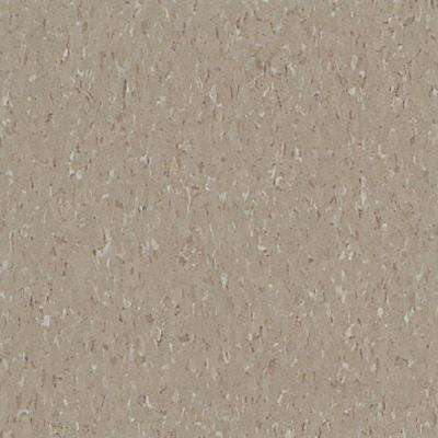 Take Home Sample - Imperial Texture VCT Earthstone Greige Standard Excelon Commercial Vinyl Tile - 6 in. x 6 in.