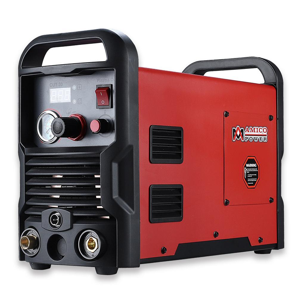 30 Amp Plasma Cutter Colossal Tech. 3/8 in. Clean Cut 110/230-Volt Compatible DC Inverter Cutting Machine
