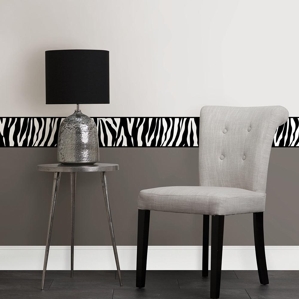 Animal Print Peel and Stick Wallpaper Border