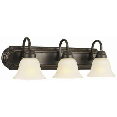 Allante 3-Light Oil Rubbed Bronze Bath Light