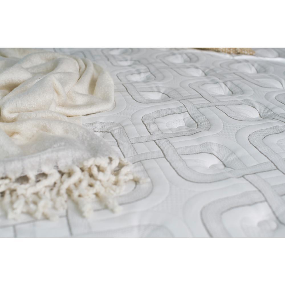 8 sealy response premium 16 in full cushion firm euro pillowtop mattress set