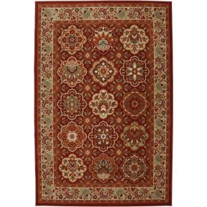 Click here to buy American Rug Craftsmen Copperhill Madder Brown 3 ft. 6 inch x 5 ft. 6 inch Accent Rug by American Rug Craftsmen.