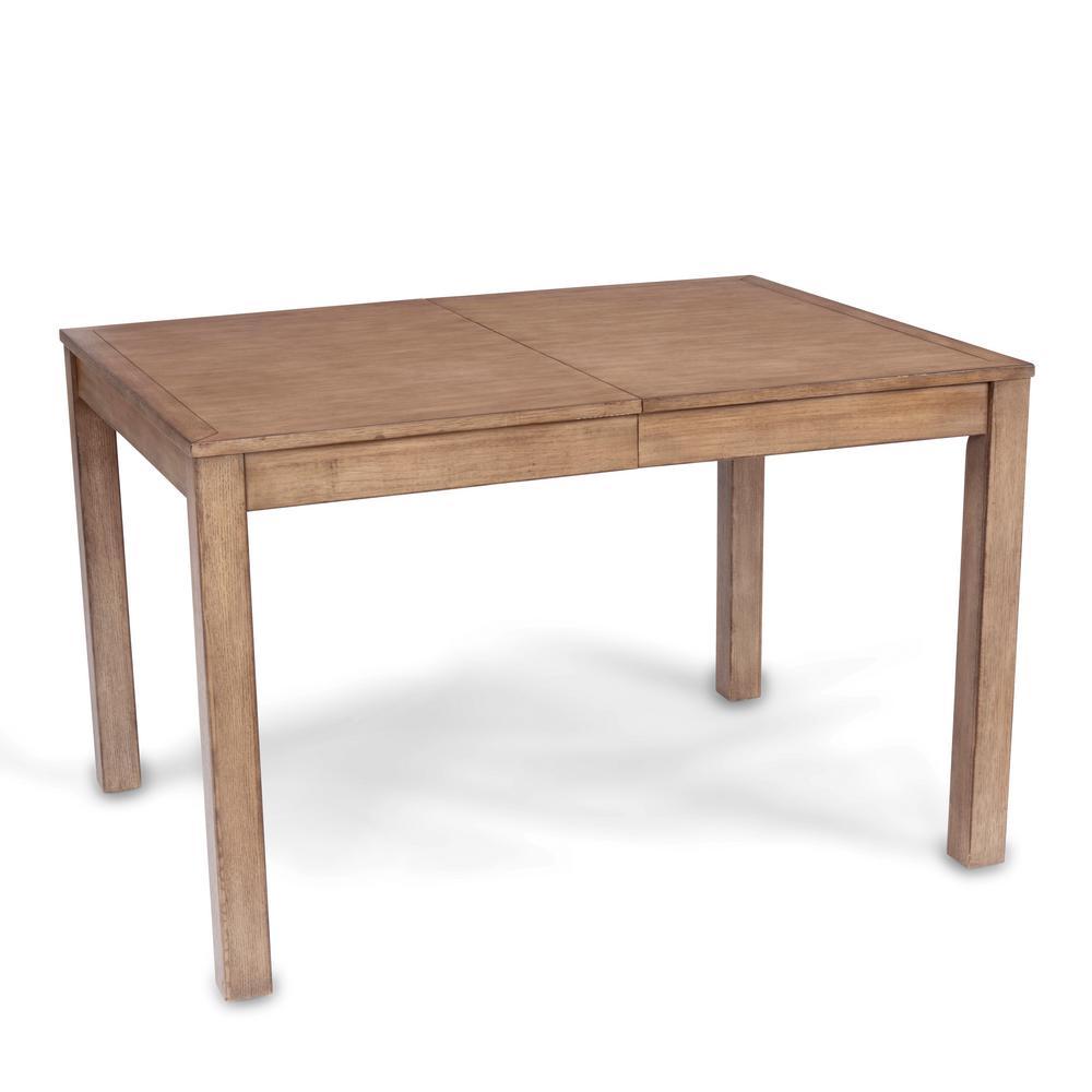 Big Sir Brown Rectangular Oak Dining Table