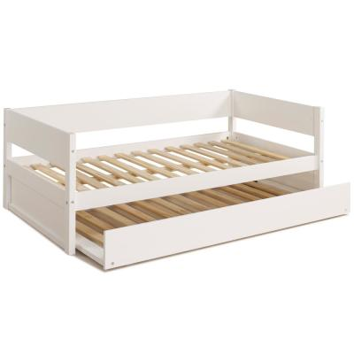 Tribeca White Twin Size Daybed with Trundle