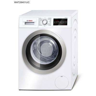 500 Series 24 in. 2.2 cu. ft. White with Silver Accents High-Efficiency Front Load Compact Washer, ENERGY STAR
