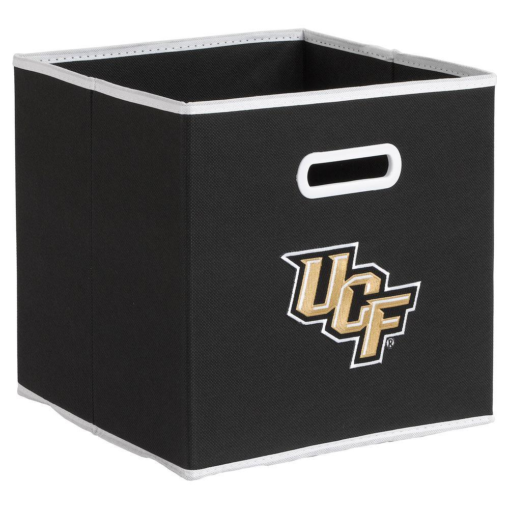 null College STOREITS University of Central Florida 10-1/2 in. W x 10-1/2 in. H x 11 in. D Black Fabric Storage Bin