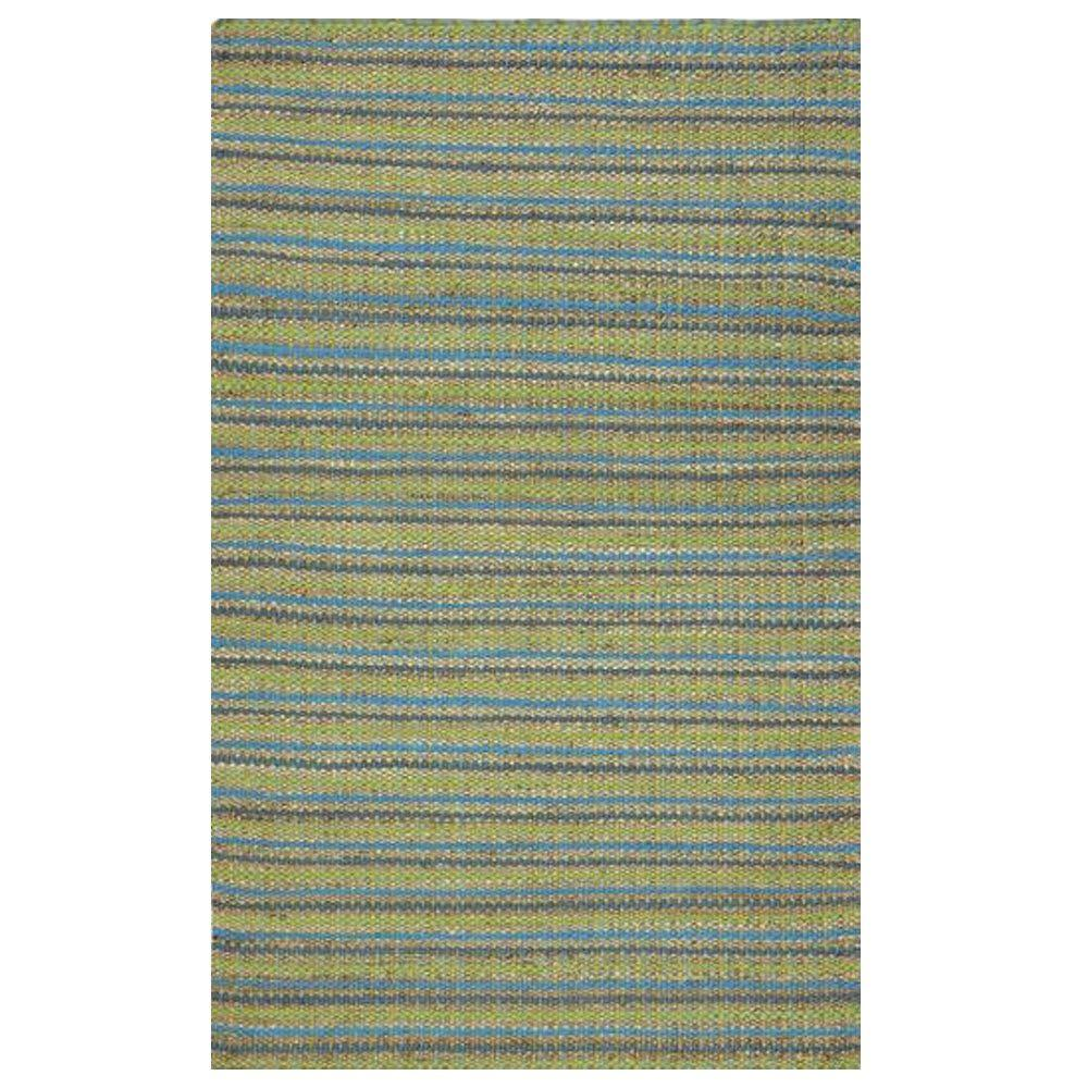 Home Decorators Collection Seasons Jute Blue 2 ft. x 3 ft. Area Rug