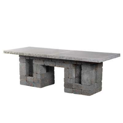 Bluestone Rectangle Patio Dining Table