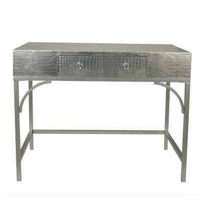 Dundee Silver Writing Console Desk