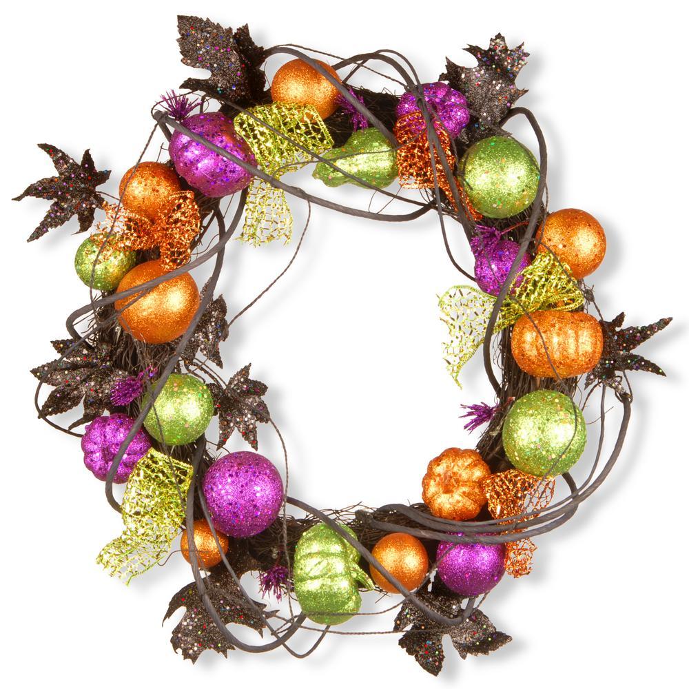 20 in. Halloween Wreath