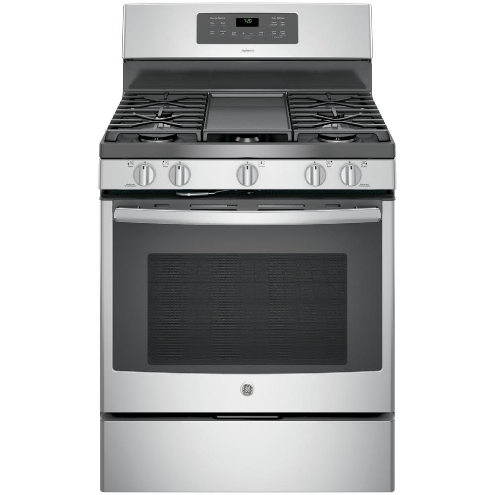 Ge Adora 5 0 Cu Ft Gas Range With