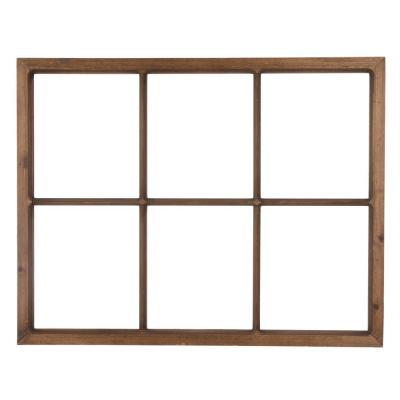 28 in. L x 22 in. H Wooden Window Frame