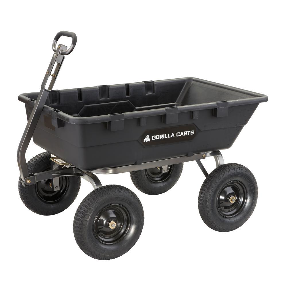 1,500 lb. Super Heavy Duty Poly Dump Cart