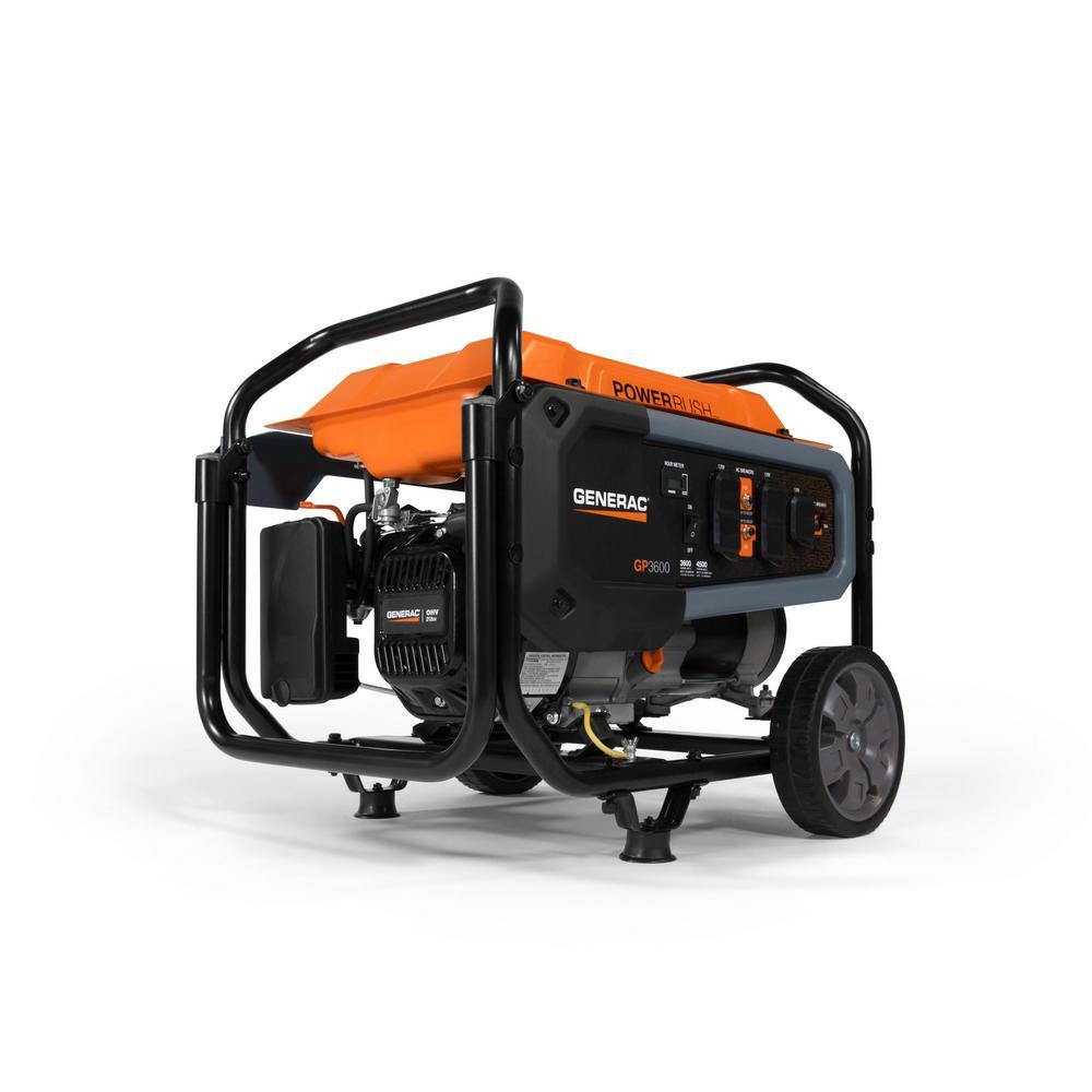Generac GP3600- 3600-Watt Gasoline Powered Portable Generator 49 /CSA