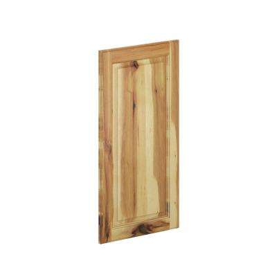 15 in. x 30 in. x 0.75 in. Madison Wall Deco End Panel in Hickory