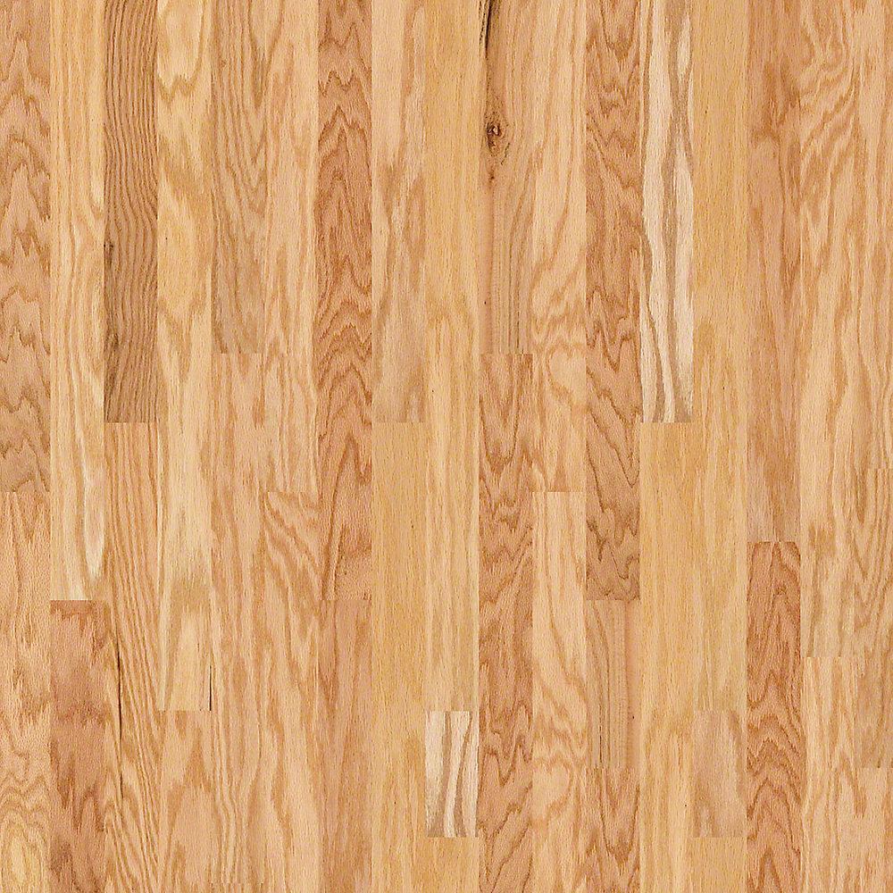 Take Home Sample - Bradford Oak Natural Oak Engineered Hardwood Flooring - 3.25 in. x 8 in.