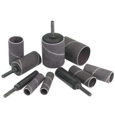 12-Piece Extra Long Sanding Drum Kit with Nut Lock Drums