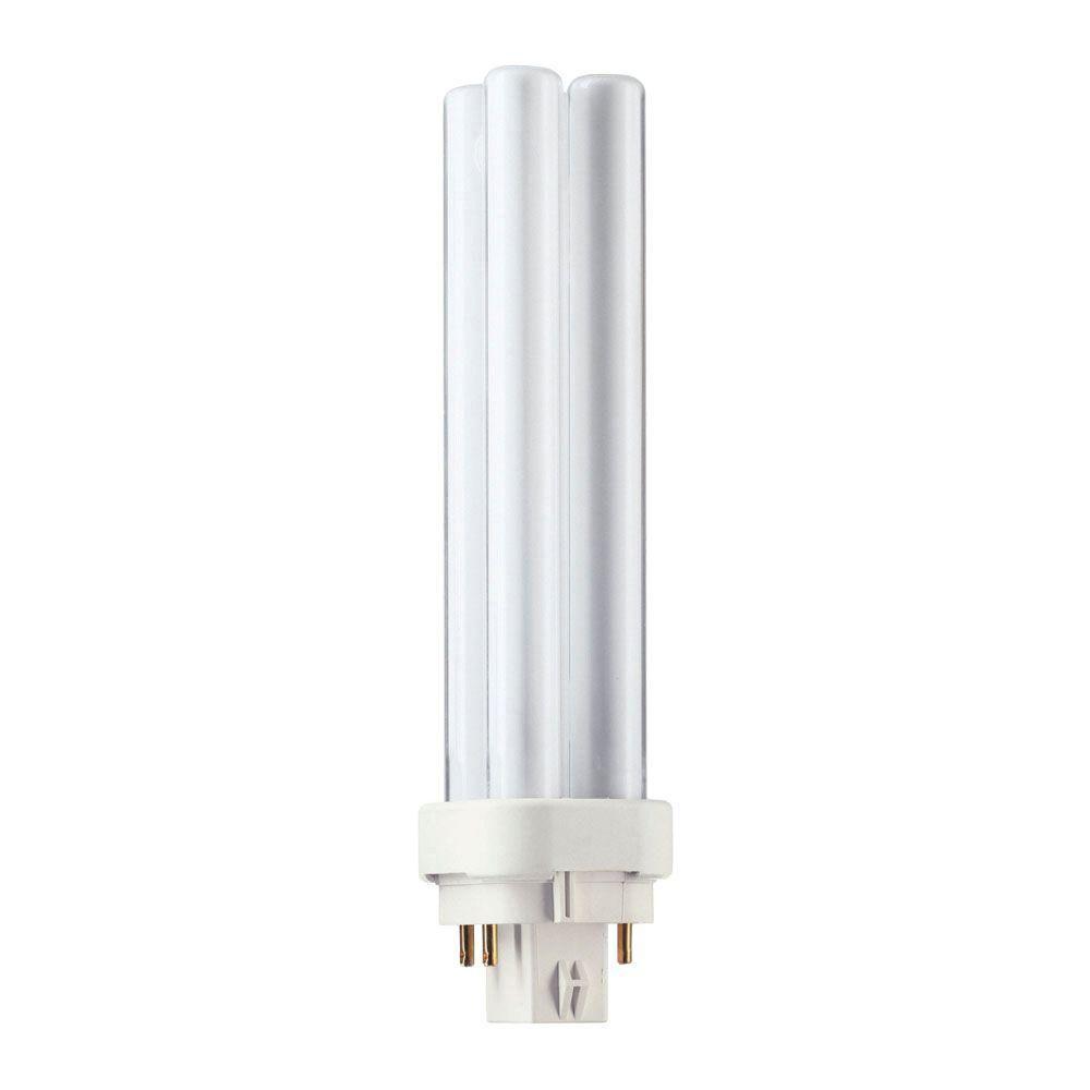26-Watt Cool White (4100K) 4-Pin G24q-3 CFLni Light Bulb (10-Pack)