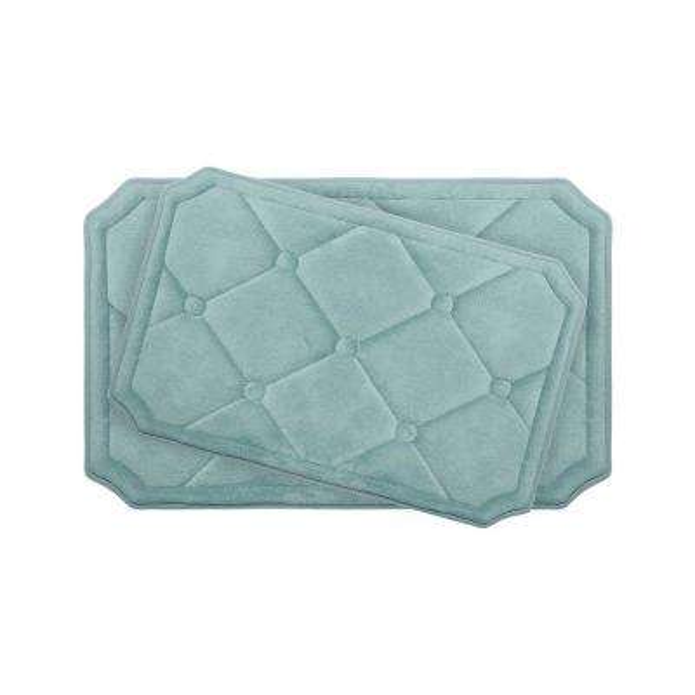 Gertie Aqua Memory Foam 2-Piece Bath Mat Set