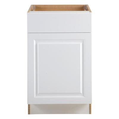 Benton Base Cabinets in White - Kitchen - The Home Depot