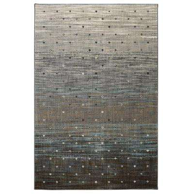 Allegro Gray 8 ft. x 11 ft. Area Rug