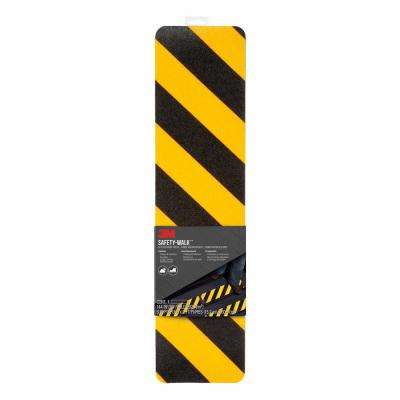 Safety Walk Slip Resistant Caution Tread  6 in. x 2 ft