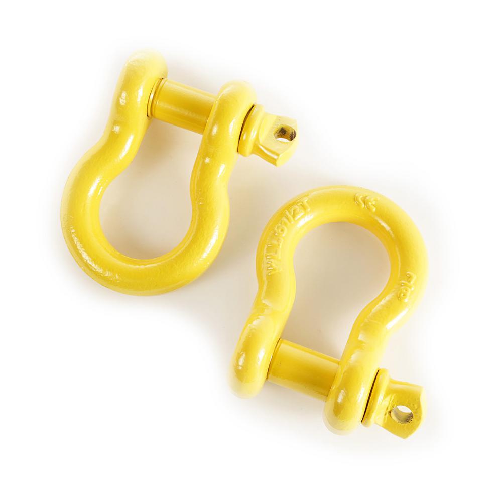 7/8 in. Yellow Pair D-Rings