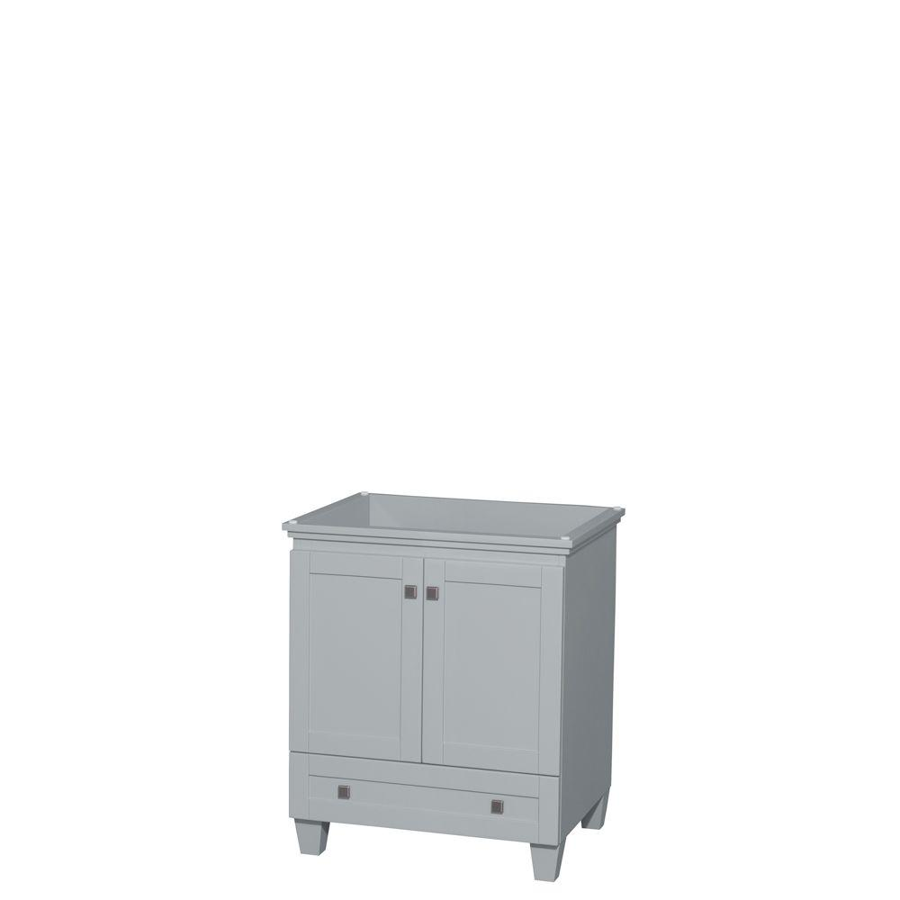 Acclaim 30 in. Vanity Cabinet in Oyster Gray