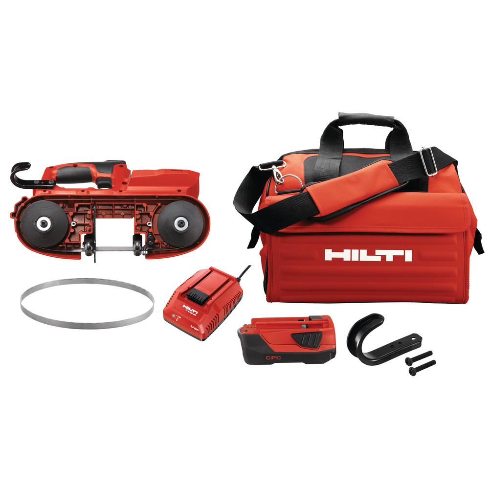HILTI SB 4 22-Volt Advanced Compact Battery Cordless Band...