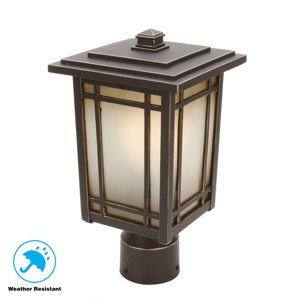 Home Decorators Collection Port Oxford 1 Light Oil Rubbed
