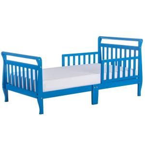 Wave Blue Toddler Sleigh Bed