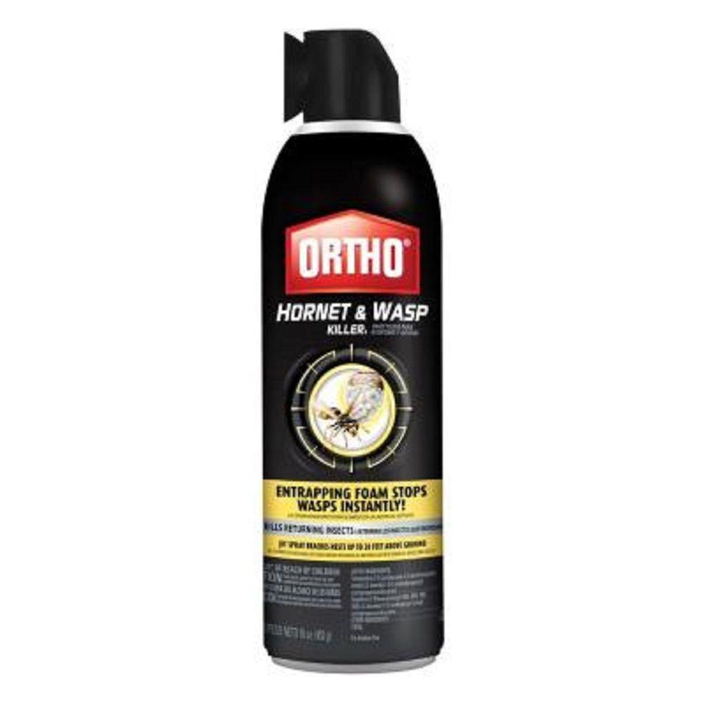Ortho 16 oz. Hornet and Wasp Killer Aerosol-0192610 - The Home Depot