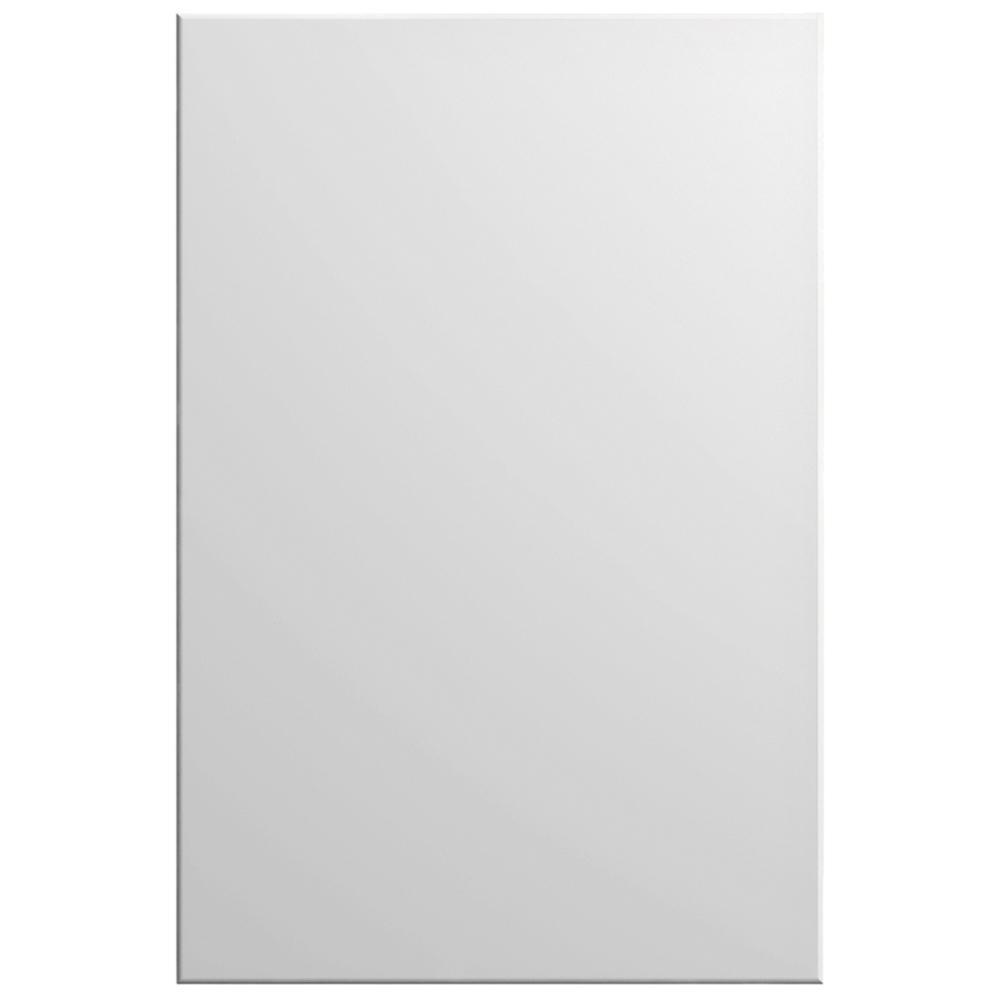 Hampton Bay Designer Series 11x15 in. Edgeley Cabinet Door Sample in White