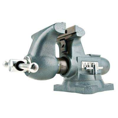 5.5 in. Tradesman Vise 3-3/4 in. Throat Depth