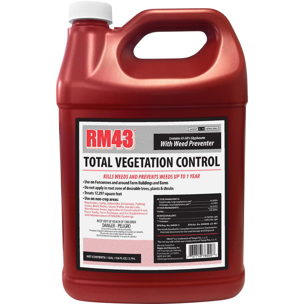 RM43 1 Gal  Total Vegetation Control, Weed Killer and Preventer Concentrate