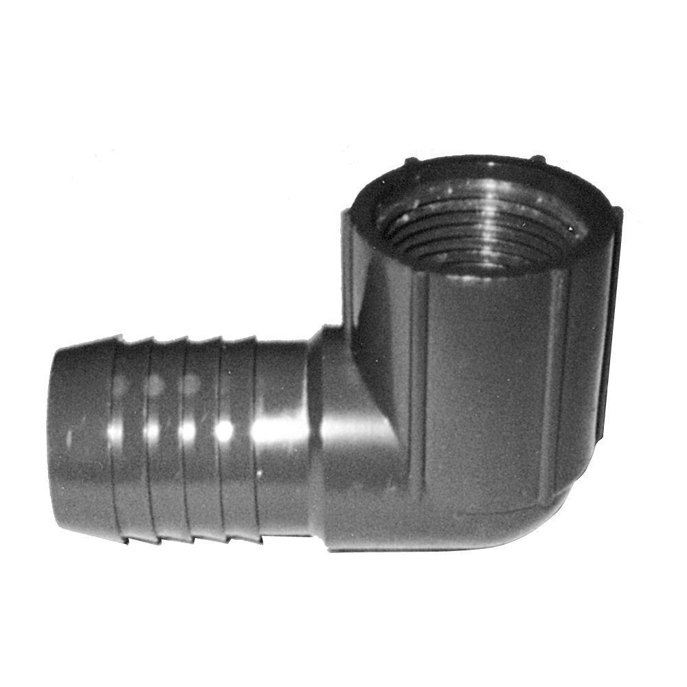 1 in. PVC 90-Degree Insert Fitting