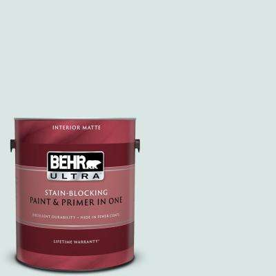 1 gal. #MQ3-51 Crystalline Falls Matte Interior Paint and Primer in One