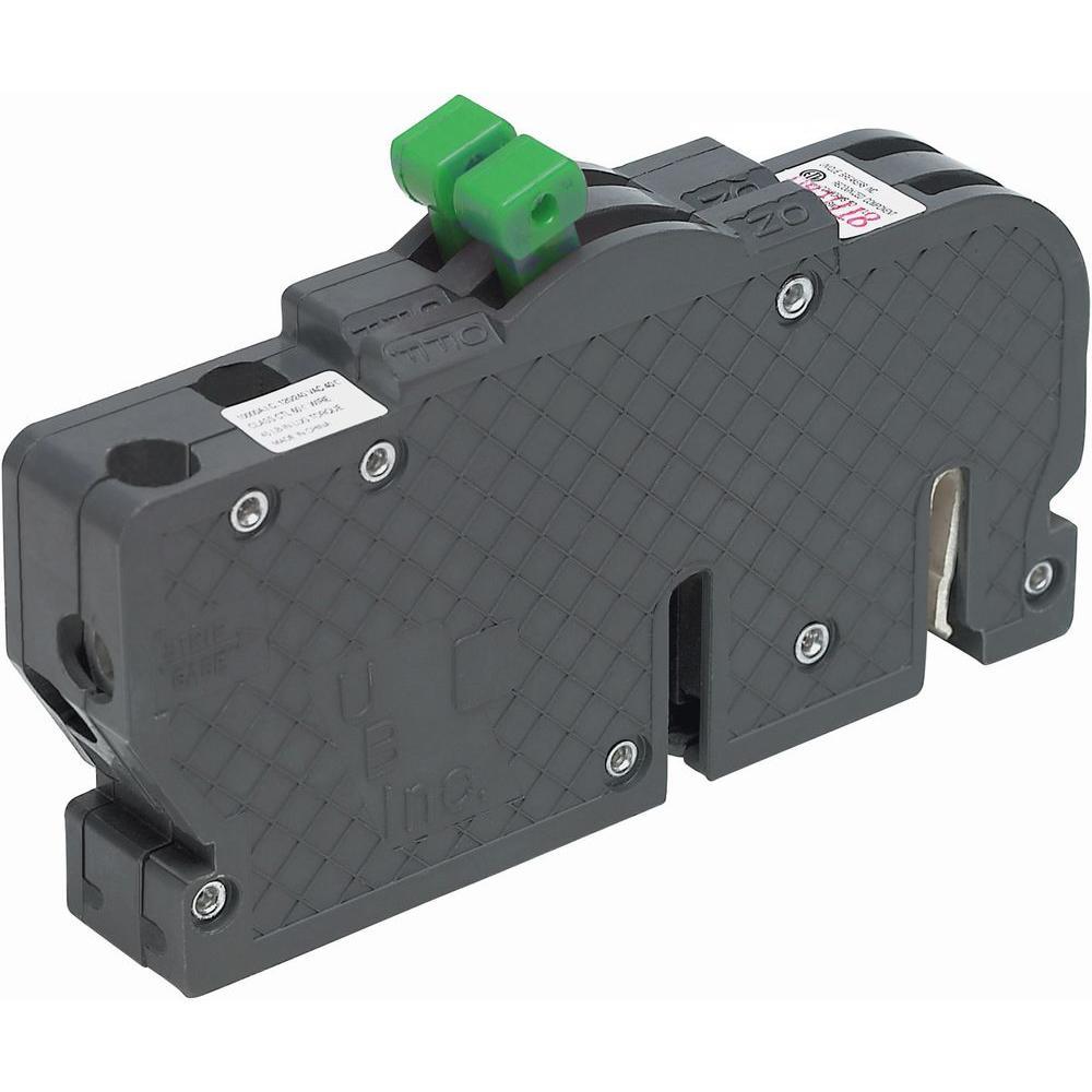 New UBIZ Twin 30 Amp 3/4 in. 1-Pole Zinsco Type R Replacement Circuit Breaker