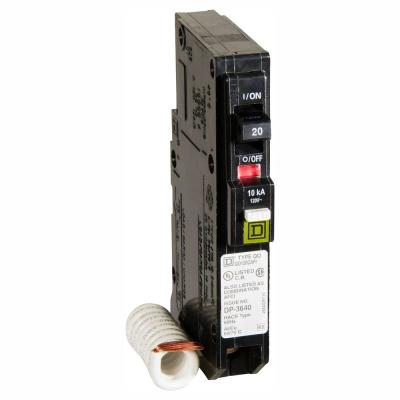 QO 20 Amp Single-Pole Combination Arc Fault Circuit Breaker (6-Pack)