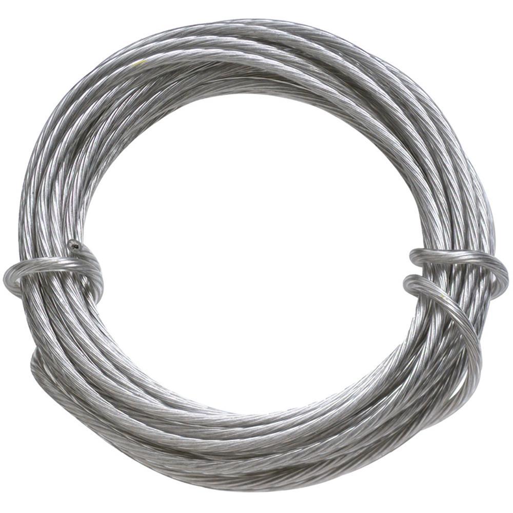Ook 50143 200/' 16 Gauge Galvanized Steel Wire