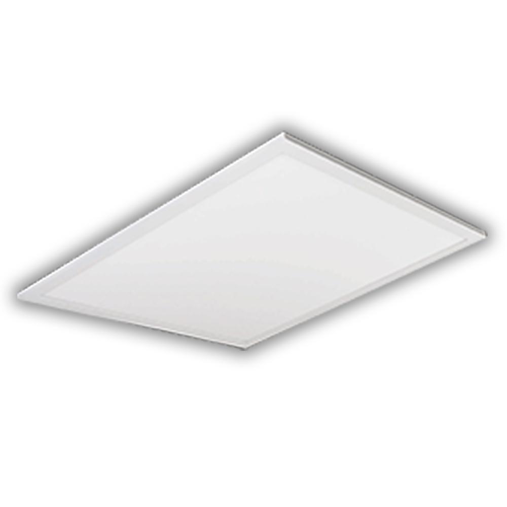 2 ft. x 2 ft 64-Watt Equivalent White Edge-Lit Flat Panel Integrated LED Drop Ceiling Troffer Cool White 4000K 81964