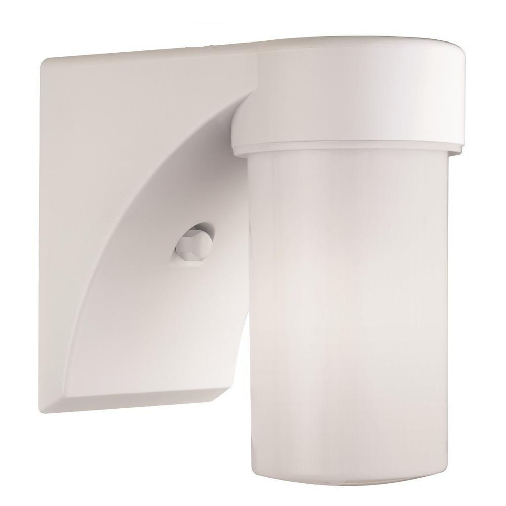 Lithonia Lighting Outdoor White Fluorescent Entry Light