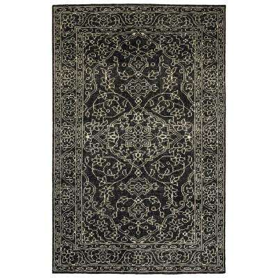 Herrera Charcoal 3 ft. x 5 ft. Area Rug